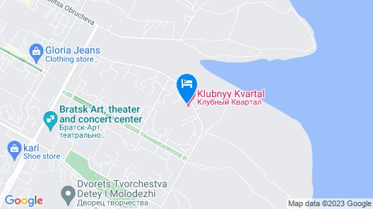 Klubnyi Kvartal Map