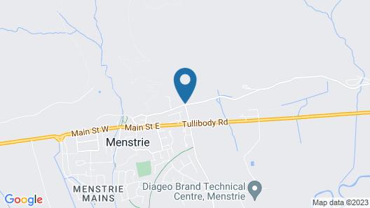 Broomhall Castle Map