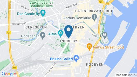 Radisson RED Aarhus Map