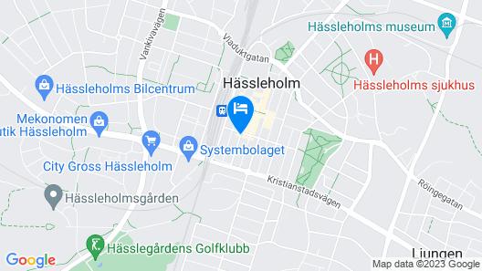 Hotel Göingehof Map