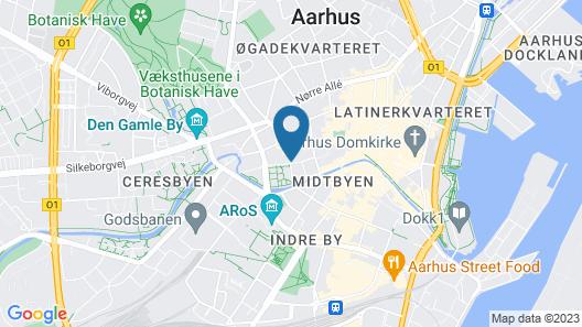BOOK1 by Brøchner Hotels Map
