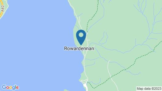 Rowardennan Youth Hostel Map