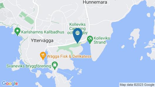 Kolleviks Camping och Stugby AB Map