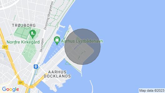 Aarhus C - Helga Pedersens Gade 9, Lighthouse Map