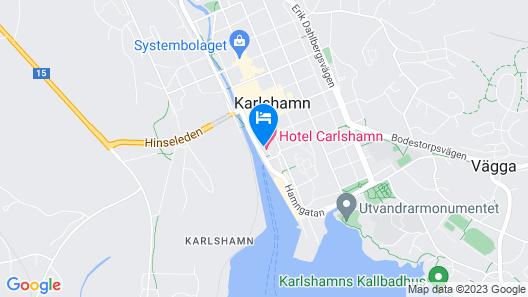 Hotel Carlshamn Map