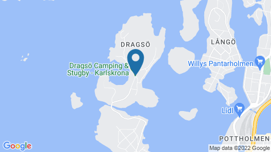 Dragsö Camping & Stugby Map