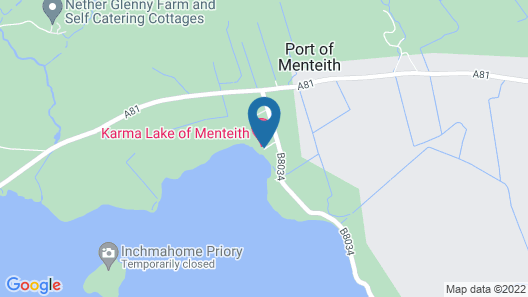 The Lake of Menteith Hotel Map