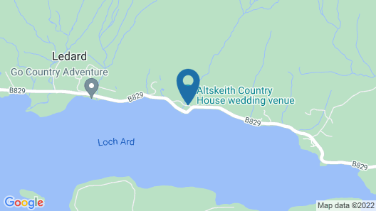 Altskeith Country House on Loch Ard Map