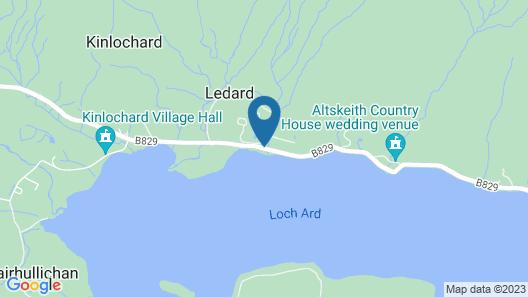 Macdonald Forest Hills Resort Map
