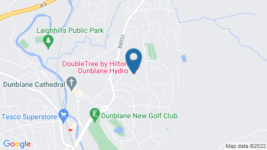 DoubleTree by Hilton Dunblane Hydro Map