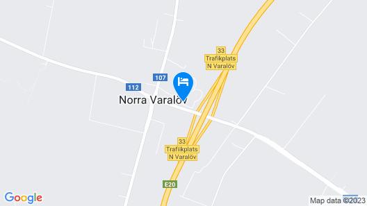 Best Western Hotell Erikslund Map