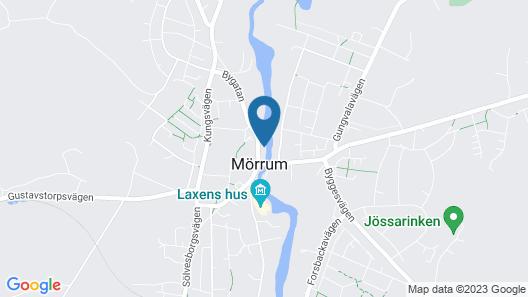 Hotel Mörrum River Map
