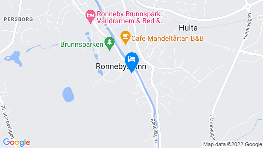 Ronneby Brunn Hotel Spa Resort Map