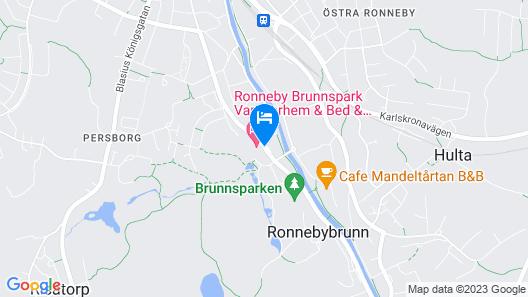 Ronneby Brunnspark Vandrarhem och B&B - Hostel Map
