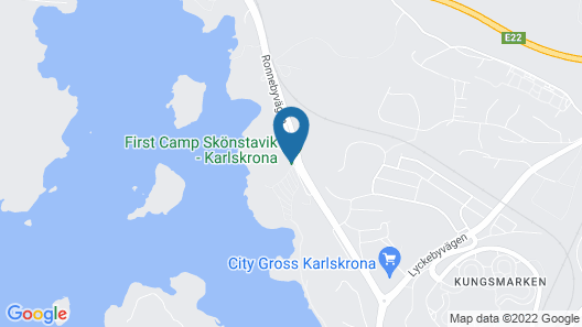 First Camp Skönstavik Karlskrona Map