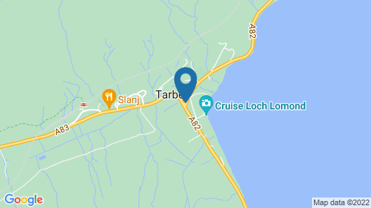 The Tarbet Hotel Map