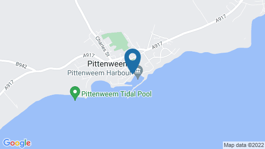 Pittenweem Harbour Apartments Map