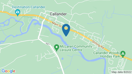 Roman Camp Country House Hotel Map
