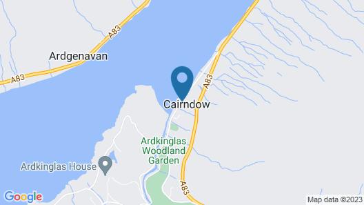 Cairndow Stagecoach Inn Map