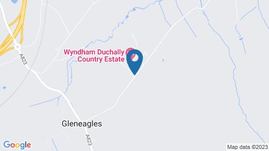 CLC Duchally Country Estate Hotel & Resort Map