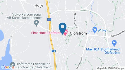 First Hotel Olofström Map