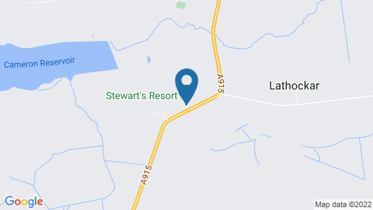 Chatsworth Lodge 4 With Hot Tub - at Luxury Resort Map