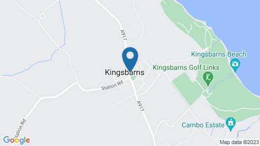 The Inn At Kingsbarns Map
