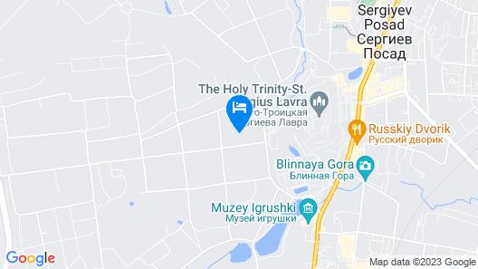 Krasnaya Gora Boutique Hotel Map