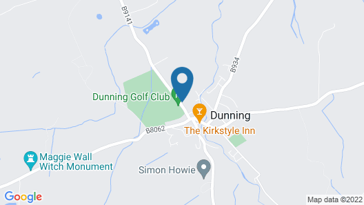 Dunning Hotel Map