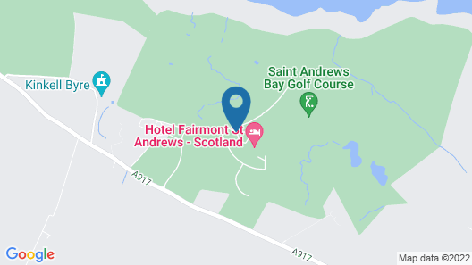 Fairmont St Andrews Map
