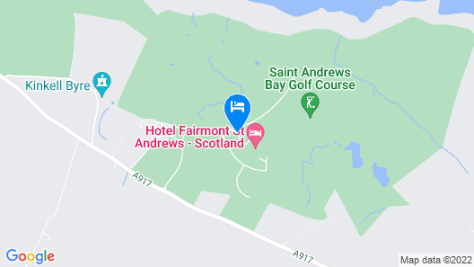 Fairmont St Andrews Map