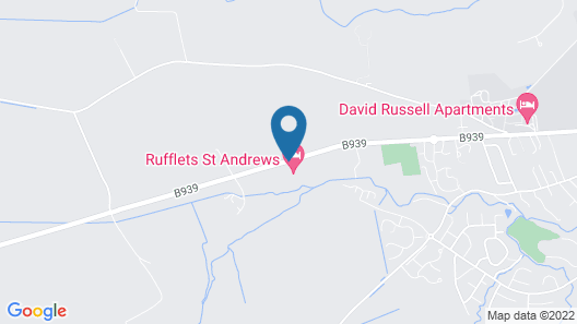 Rufflets St Andrews Map