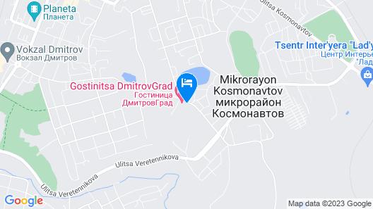 Hotel DmitrovGrad Map