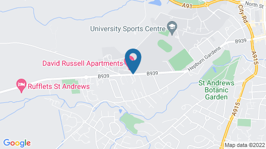 David Russell Apartments Campus Accommodation Map