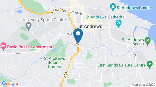 Kinness House Luxury Apartment Map