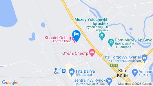 Hostel Ochag Map