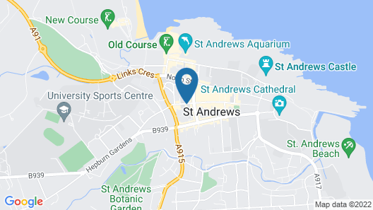 No.1 St Andrews  Map