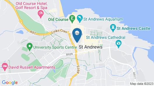 Luxury St Andrews Apartment Map