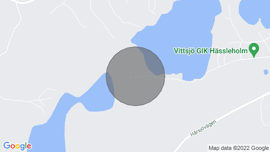 6 Person Holiday Home in Vittsjö Map