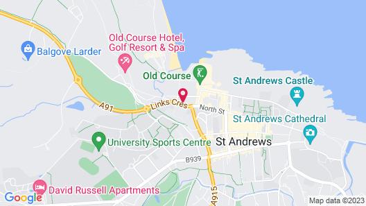 Rusacks St. Andrews Map