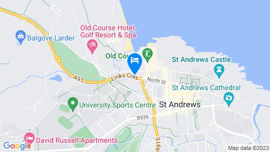 Rusacks Hotel Map