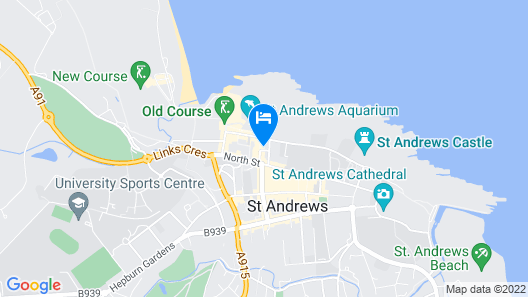 Cleveden House by The Dunvegan Map