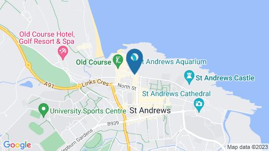 Hotel du Vin & Bistro St. Andrews Map