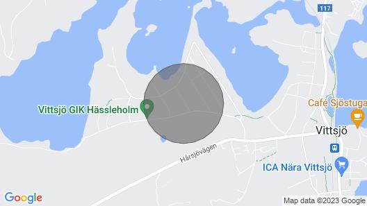 2 Bedroom Accommodation in Vittsjö Map