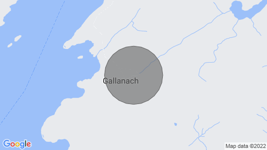 Gallanach Castle Garden Wing Map