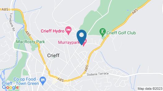 Murraypark Hotel Map