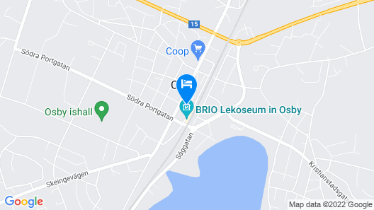 Stora Hotellet Osby Map