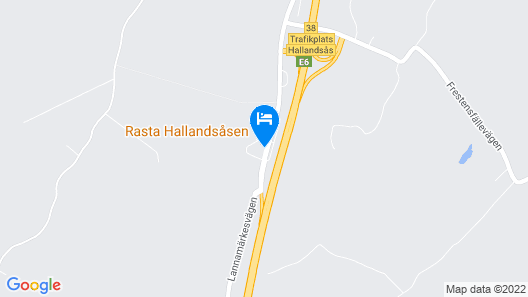 Rasta Hallandsåsen Map