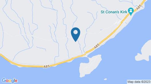 Awe View Railway Cottage Map