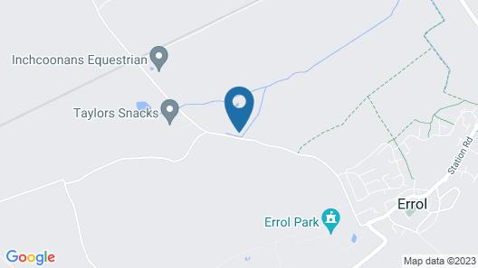 Silverwood Luxury Lodges Map